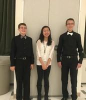 Steven, Megan and Grayson representing Merton!