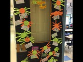 Halloween Door Celebrating Respect!