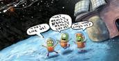 Three Little Aliens