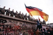 The Berlin Wall is ready to fall