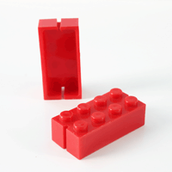 First improved lego brick