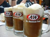 Root beer with the lowest of 40 grams of sugar.