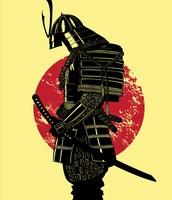 A Samurai Doing His Duty