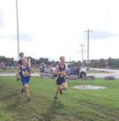 JV Boys earned 3rd & V Boys Placed 4th in Team Finishes