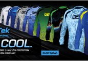 The only place to get quality fishing clothes