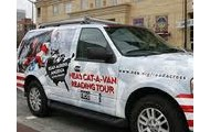 Follow the Cat-A-Van!