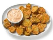 Scrumptious Fried Pickles
