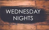 Wednesday Night Activities This Week