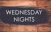 Wednesday Night Activities This Week