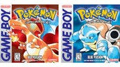 The First Two Pokemon Games