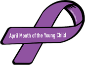 Highlights of April- Board  Meeting Pledge of Allegiance and Early Learning Presentation