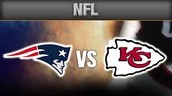 Chiefs take on the patriots with 11 wins and 5 losses. Patriots with an amazing 12 wins 4 losses.