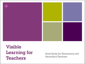 Visible Learning For Teachers Book Study