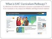 SAS Curriculum Pathways