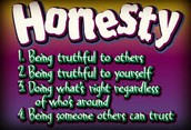 Character Trait for March:  Trust