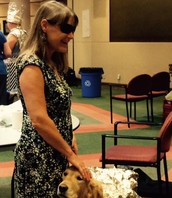 Pam (VI) and Kyra, The Wonder Guide Dog