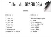 Temario 2 grafología