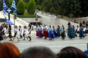 The OXI day celebration in Greece