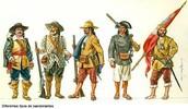 Tipos de Bandeirantes
