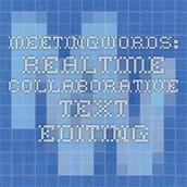 MeetingWords
