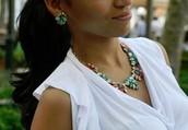 Naomi Cluster Earrings for $22