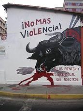 Las personas de España son muy ignorantes sobre lo que pasa a los toros.