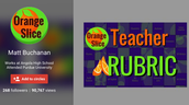 Teacher and Student Rubric