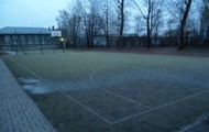 Our school - the  sports fields