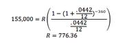 Minimum Amount Equation
