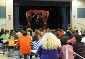 """Chad Crews performing """"Authors of Mystery and Horror, 2.0"""""""