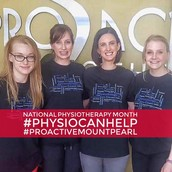 Pro-Active sporting their NPM T-Shirts!