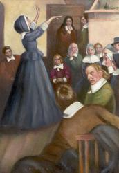 Anne preaches when she is female.