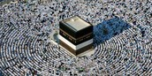 Come to Makkah for religious reasons and visit the Ka'ba