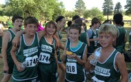 Cross Country Runners Compete