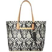 LA TOTALE LARGE - ESPRESSO IKAT $30 (75% off)