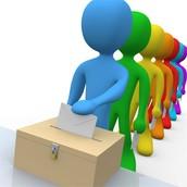 Voting ballots