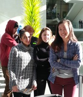 Students in Ms. Hoff's Spanish Class visit MFA in Boston