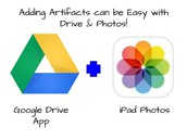 Upload Artifacts to Google Drive ePortfolio Folder from Camera Roll