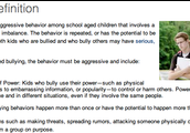 If you are a bully, stop right now! How would you feel if you were getting bullied?