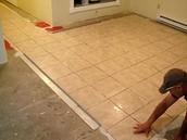 Tile worker