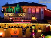 Decorate houses with Pumpkins