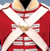 Uniforms, muskets and guns.