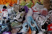 OSA Sponsors Shoe Drive