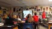 6th grade math, student teaching classmates
