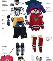 Full Hockey kit with jerseys