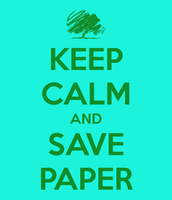 Save Paper Please
