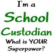 If you need help from a custodian....