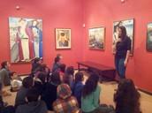 ביקור ז'3 במוזיאון ראובן רובין