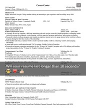 Resume Review Week