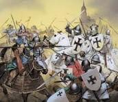 קרב בין הצלבנים לבין המוסלמים